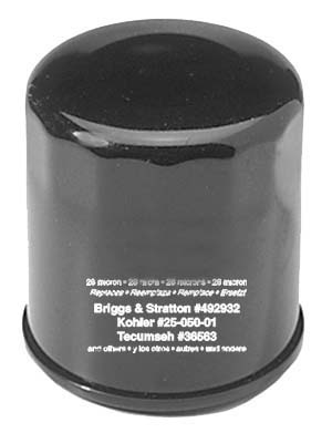 Oil Filter Briggs And Stratton 492932 (5 Pack)
